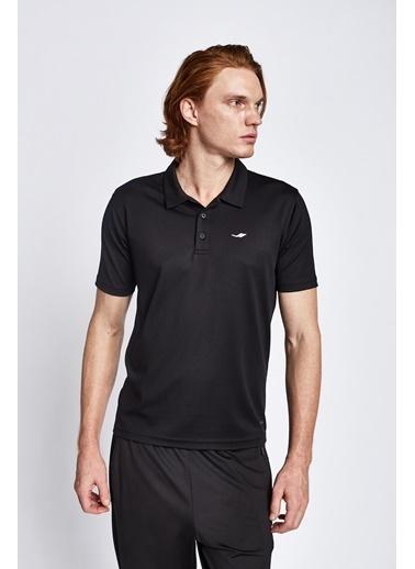 Lescon 19S-1252-19N Siyah Erkek Kısa Kollu Polo T-Shirt Siyah